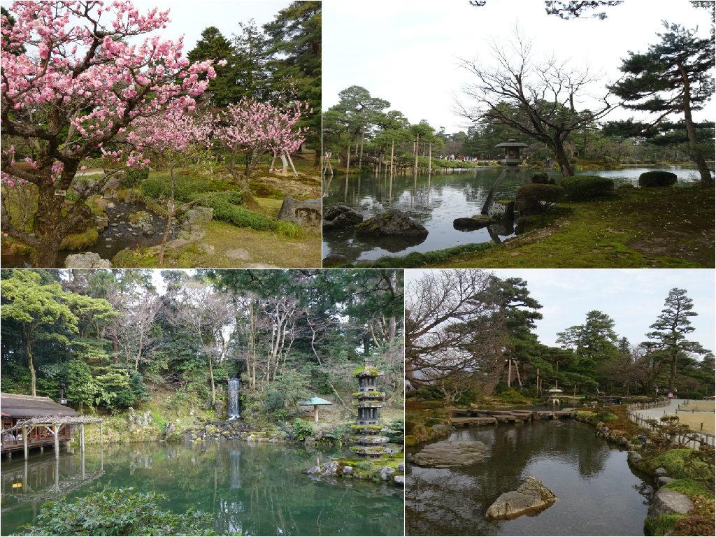 japan honeymoon Kenroku-en Garden
