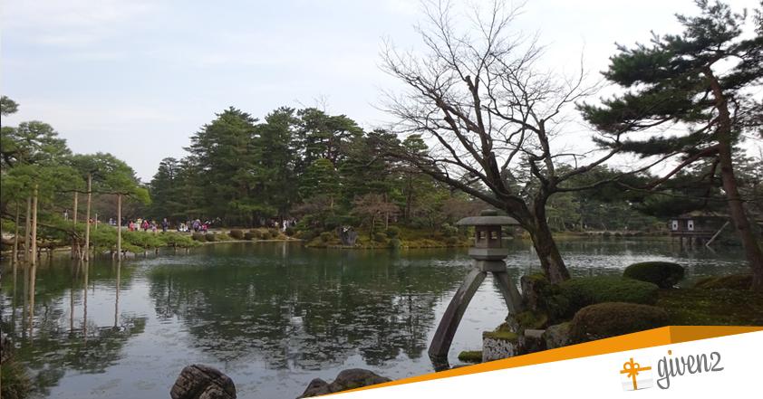 Cosa vedere in Giappone: Kanazawa - Kenroku-en garden
