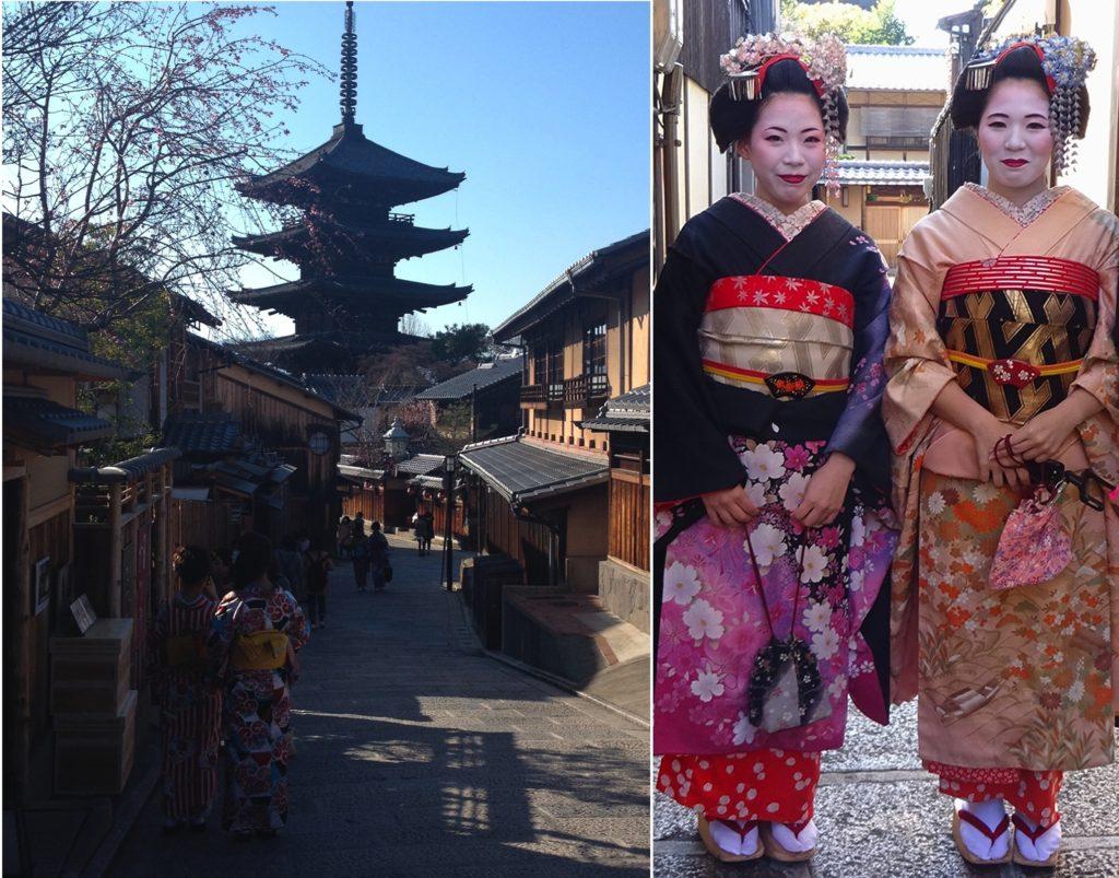 japan honeymoon Higashiyama district - Kyoto