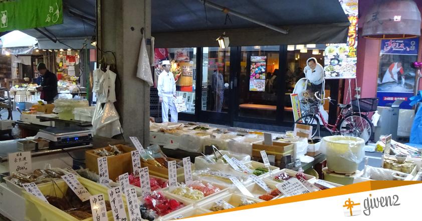 cosa vedere in giappone: Tokyo - Tsukiji Market