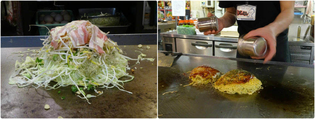Japan honeymoon okonomiyaky