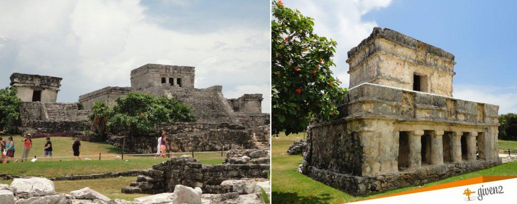 honeymoon in mexico tulum-ruins