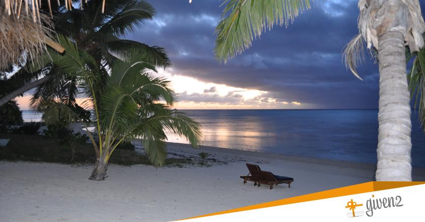 Viaggio di nozze in Polinesia: spiaggia bianca