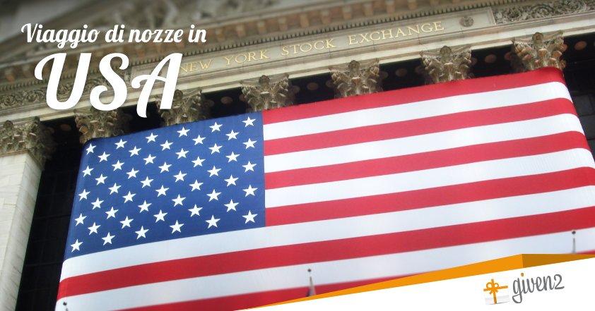 Viaggio di nozze in America (USA)