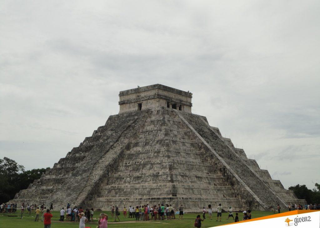 Honeymoon in Mexico Chichen Itza