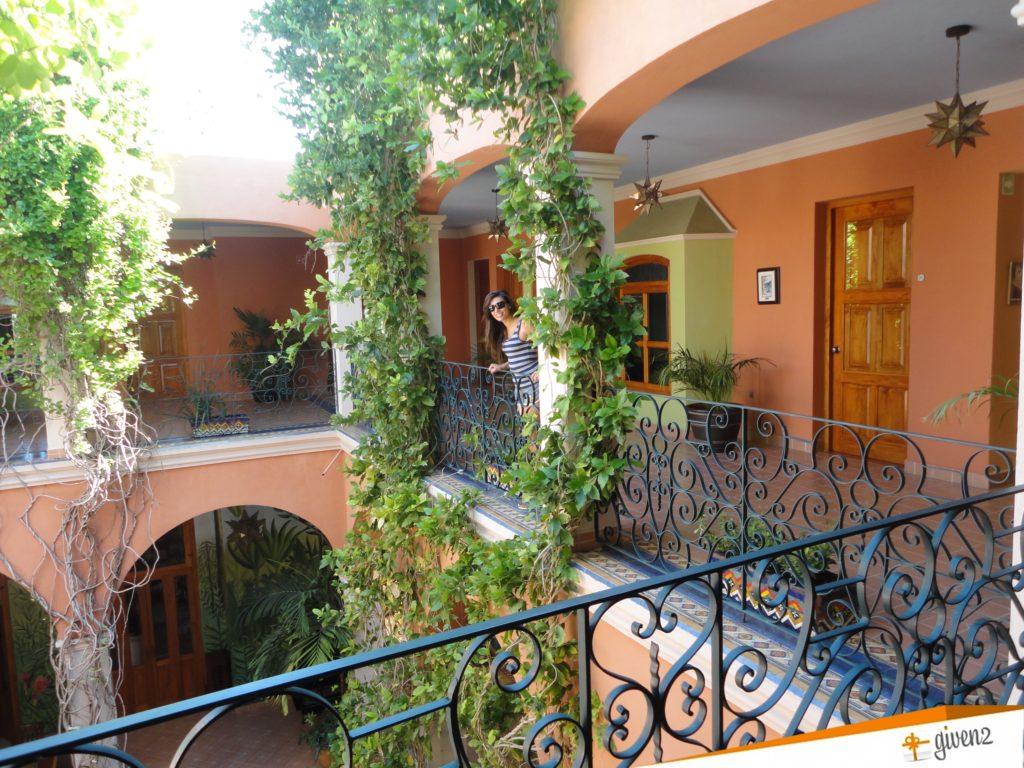 Honeymoon in mexico Merida hotel Casa San Angel