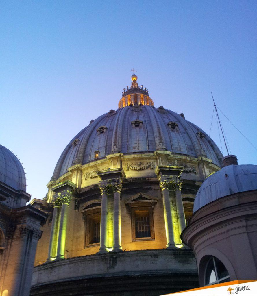 Italy Honeymoon Itinerary St Peter's Basilica