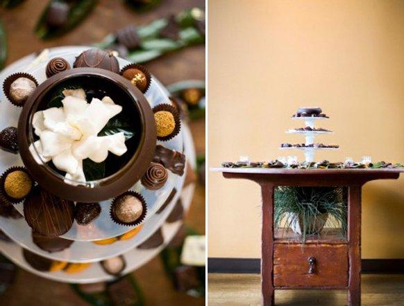 Torte nuziali | con cioccolatini