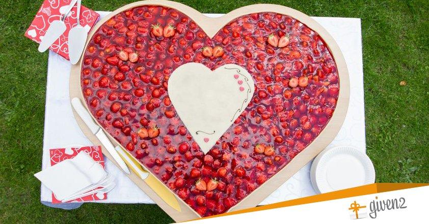 Torte nuziali | a cuore