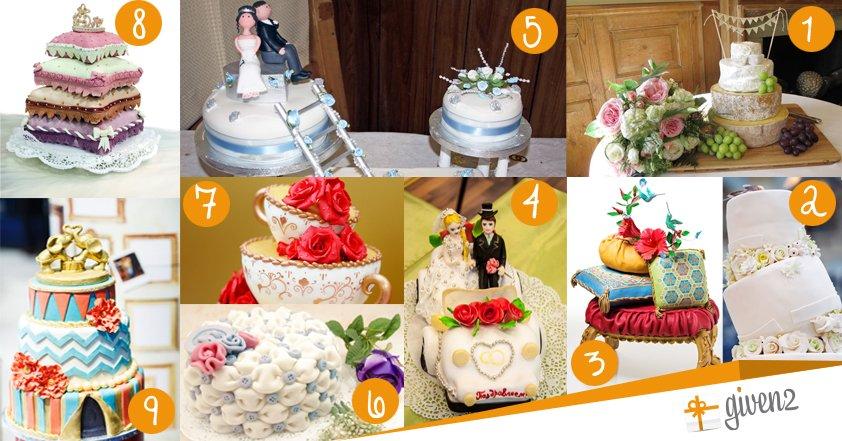 Torte nuziali | originali e simpatiche