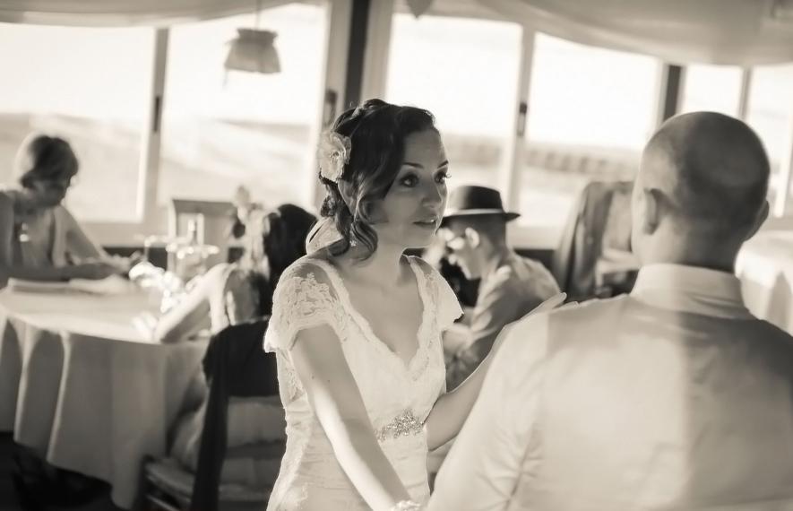 matrimonio vintage: foto al ricevimento