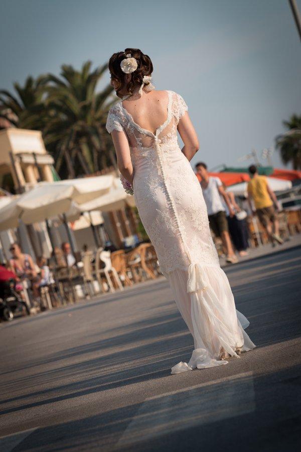 vestito sposa matrimonio shabby chic