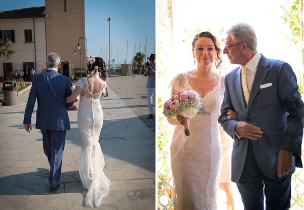 matrimonio vintage: il padre della sposa