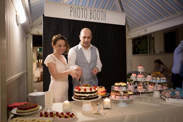 table cake matrimonio vintage