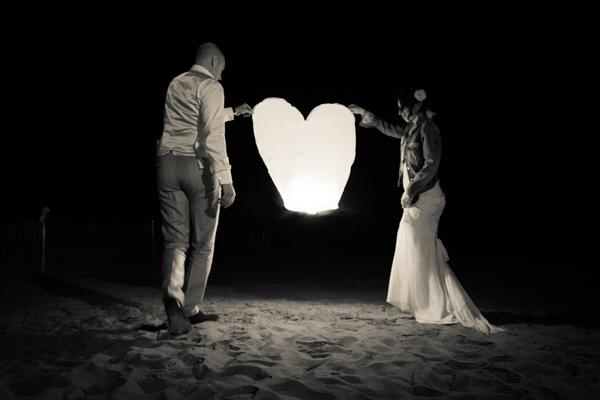matrimonio vintage sulla spiaggia