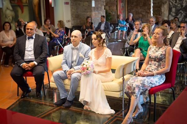 matrimonio vintage rito civile