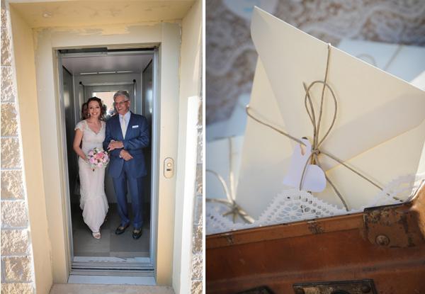 matrimonio vintage: entrata della sposa a sorpresa