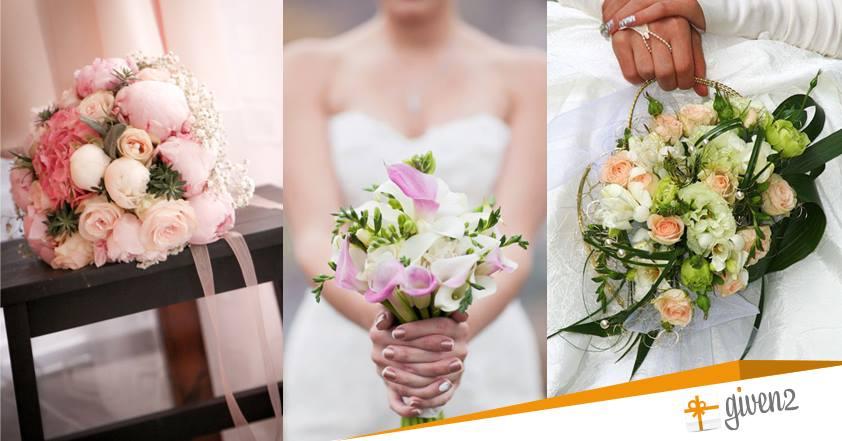 Foto Di Bouquet Da Sposa.Le 5 Tipologie Principali Di Bouquet Sposa Da Abbinare All Abito