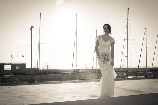 beach wedding photo reportage