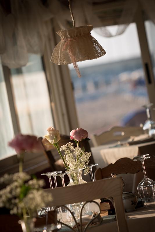 Vintage wedding chandelier