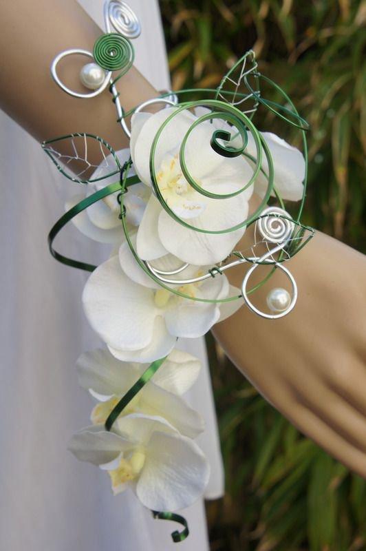 bouquet sposa originali: a bracciale