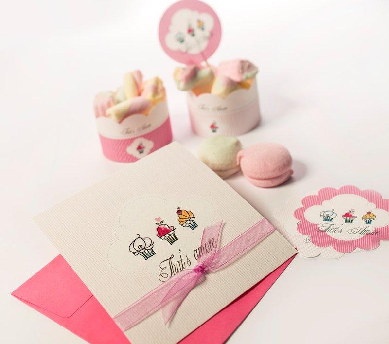 partecipazioni matrimonio online cartoncino rosa