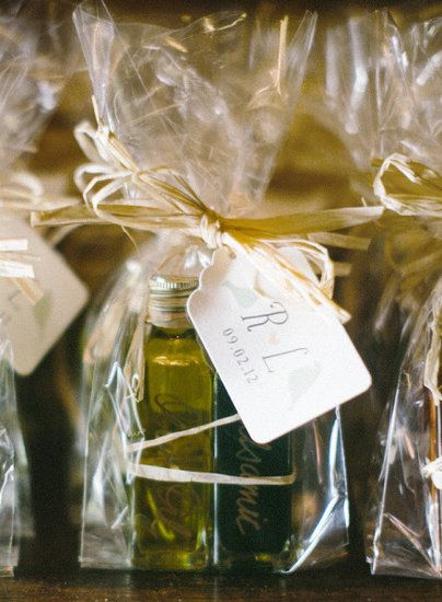 idee bomboniere matrimonio: olio e aceto