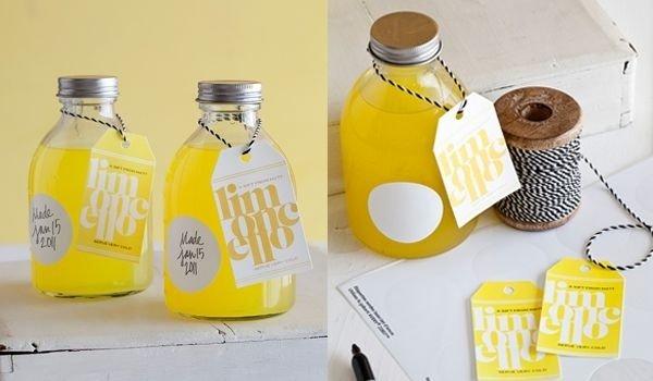 idee bomboniere matrimonio: limoncello