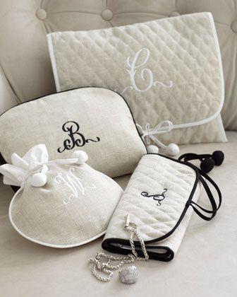 bridal shower gift ideas cosmetics bag