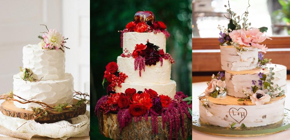 torta nuziale matrimonio country chic