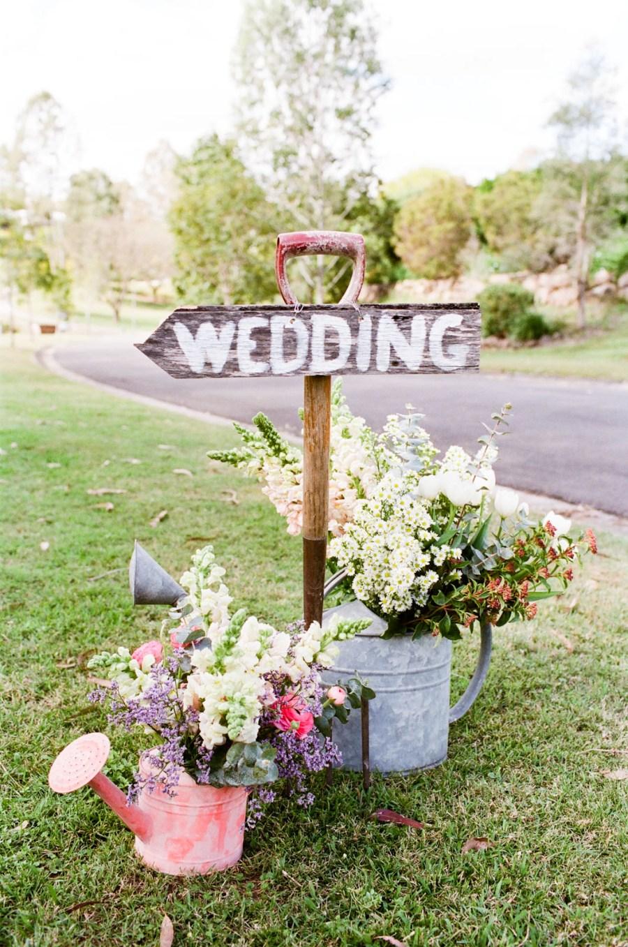 decorazioni matrimonio country chic