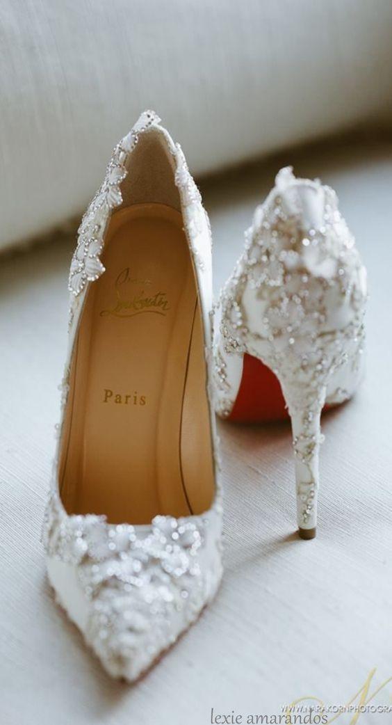 scarpe sposa - lavorate