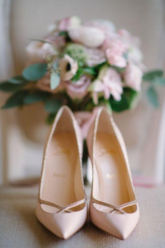 scarpe sposa - décolleté rosa