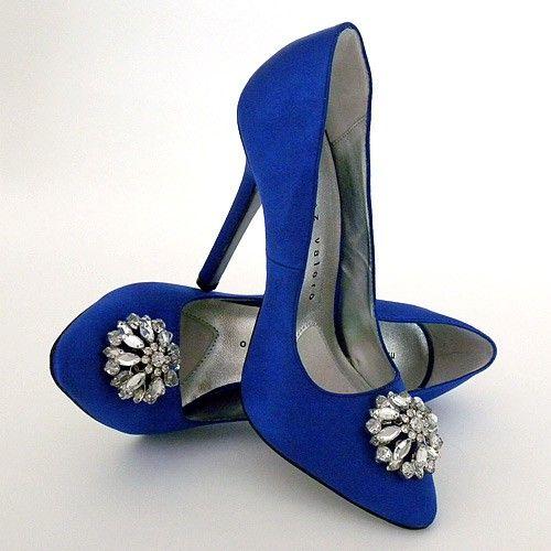 scarpe sposa - blu