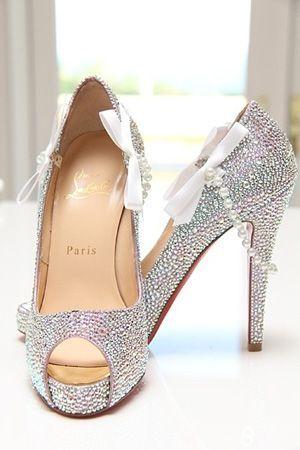 scarpe sposa - swarovsky