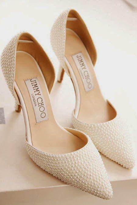 scarpe sposa perline
