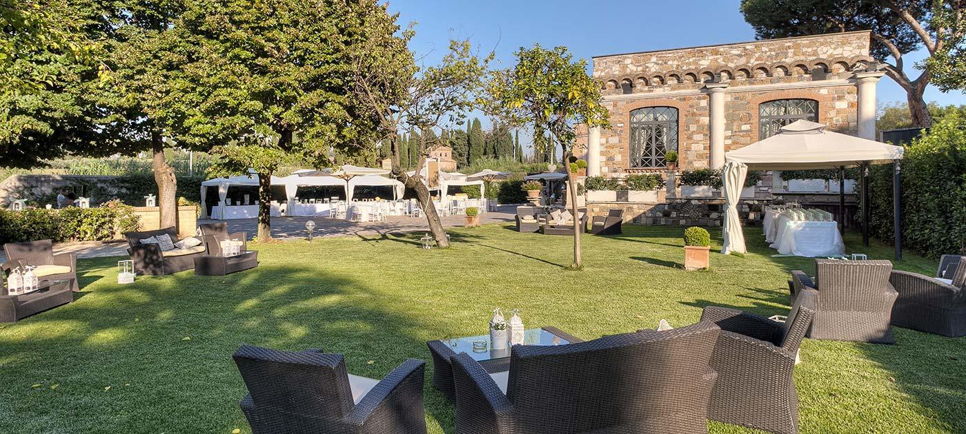 location matrimoni roma - nuova villa dei cesari