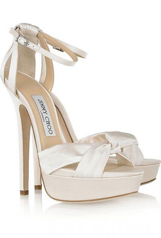 scarpe sposa elegante - sandalo alto
