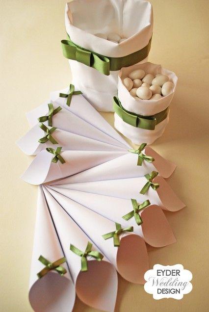 coni per confetti - confetti sulmona - idee bomboniere matrimonio