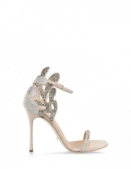 scarpe sposa - sandalo brillante