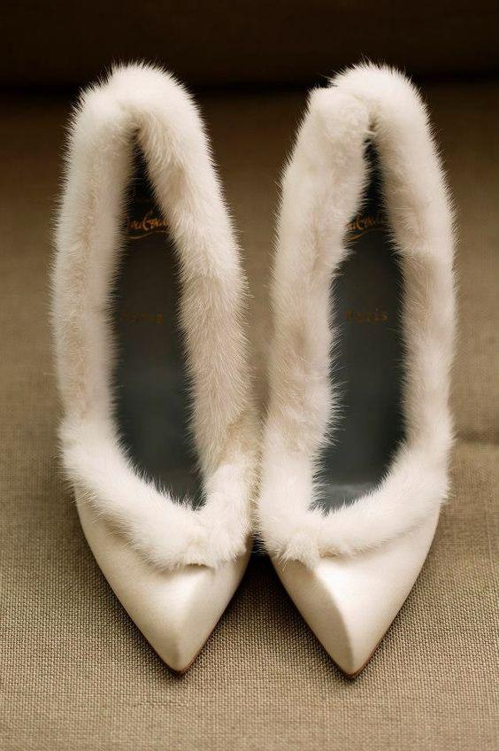 scarpe sposa pelose