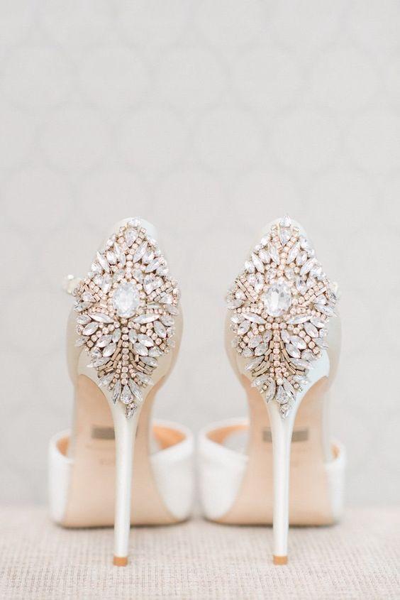 scarpe sposa brillanti