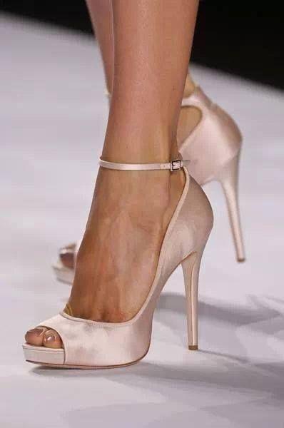scarpe sposa elegante - Décolleté alto
