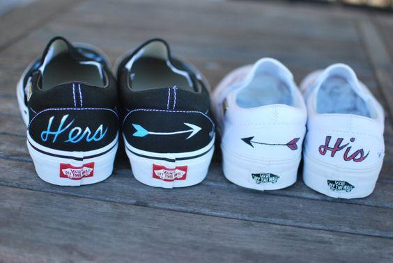 scarpe sposa Vans sposi