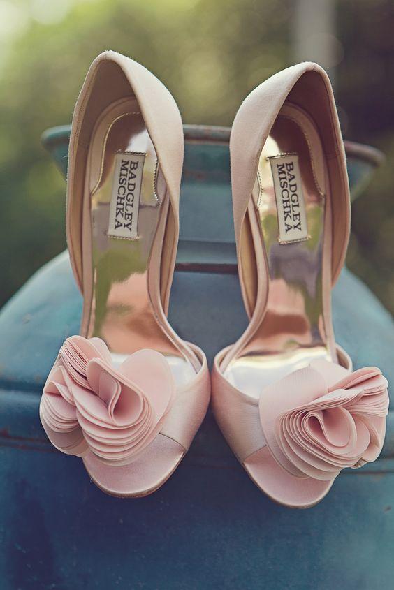 scarpe sposa - rosa