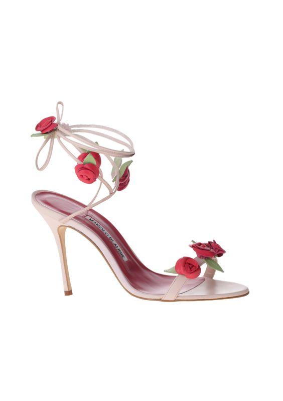 scarpe sposa roselline