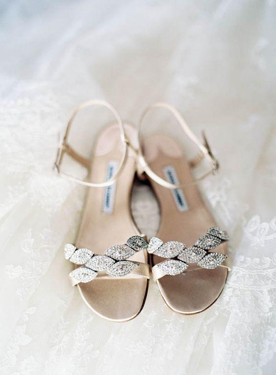 scarpe sposa sandali brillanti