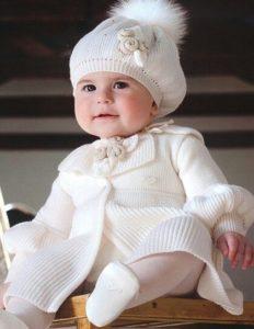 vestito per battesimo invernale