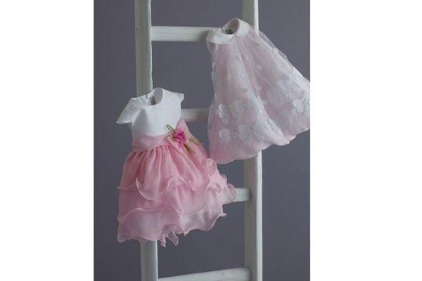 vestiti per battesimo bimba rosa