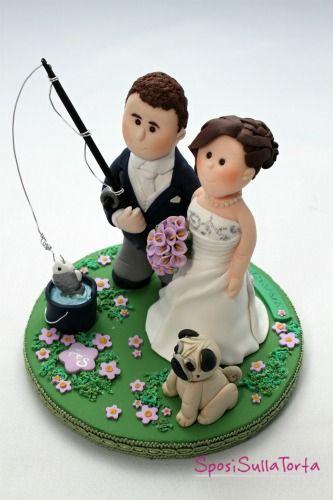 cake topper sposi hobby